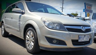 2009 Holden Astra AH MY09 CDX Fawn 4 Speed Automatic Wagon.