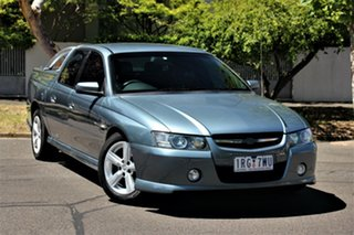 2004 Holden Crewman VZ SS Charcoal 4 Speed Automatic Crew Cab Utility.