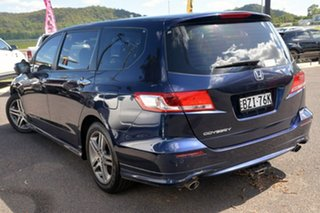 2010 Honda Odyssey 4th Gen MY10 Luxury Blue 5 Speed Sports Automatic Wagon