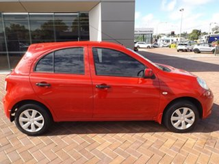 2011 Nissan Micra K13 ST Red 5 Speed Manual Hatchback.