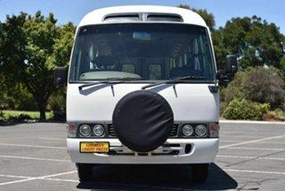2001 Toyota Coaster White Passenger Bus 2WD.