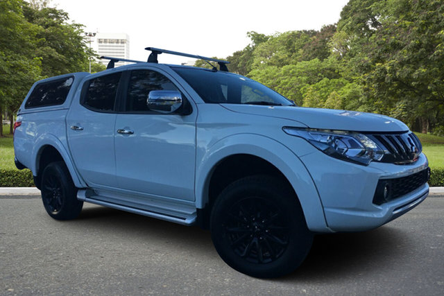 Used Mitsubishi Triton MQ MY18 GLS Double Cab Paradise, 2017 Mitsubishi Triton MQ MY18 GLS Double Cab White 5 Speed Sports Automatic Utility