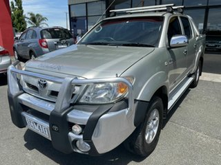 2006 Toyota Hilux GGN15R 06 Upgrade SR5 Silver 5 Speed Automatic Dual Cab Pick-up