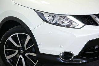 2015 Nissan Qashqai J11 TI Pearl White 1 Speed Constant Variable Wagon.