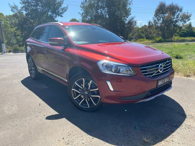 Used Volvo XC60 D4 Luxury Geelong, 2016 Volvo XC60 (No Series) D4 Luxury Red Sports Automatic Wagon