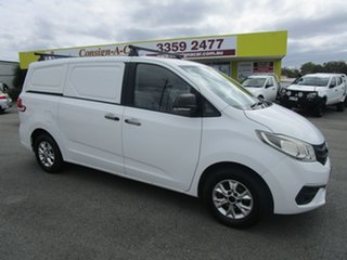 2015 LDV G10 SV7C White 5 Speed Manual Van.