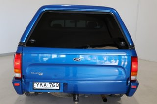 2005 Ford Falcon BA Mk II XL Ute Super Cab Blue 5 Speed Manual Utility.