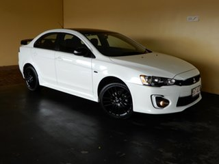 2017 Mitsubishi Lancer CF MY17 Black Edition (es) White 6 Speed CVT Auto Sequential Sedan