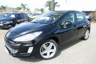 2008 Peugeot 308 T7 XTE Nero Black 6 Speed Sports Automatic Hatchback.