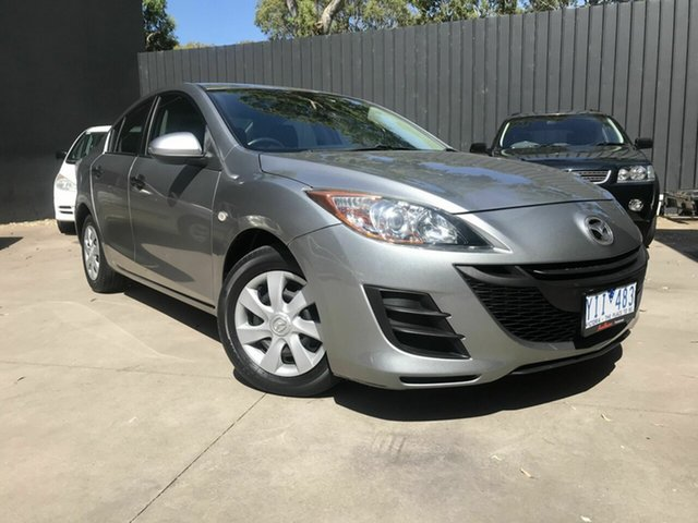 Used Mazda 3 Fawkner, 2011 Mazda 3 NEO Silver Auto Activematic Sedan