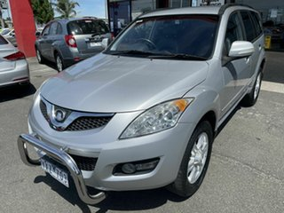 2012 Great Wall X200 CC6461KY MY11 (4x4) Silver 6 Speed Manual Wagon