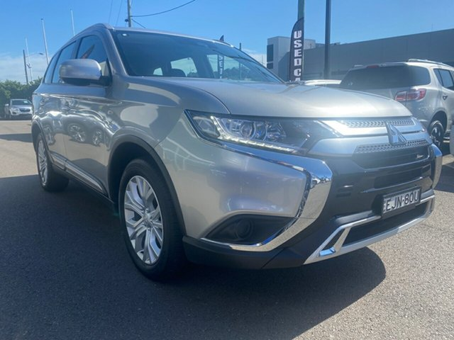 Used Mitsubishi Outlander ZL MY19 ES AWD Cardiff, 2019 Mitsubishi Outlander ZL MY19 ES AWD Silver 6 Speed Constant Variable Wagon