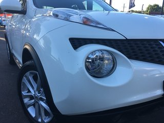 2013 Nissan Juke F15 MY14 Ti-S AWD White 1 Speed Constant Variable Hatchback.