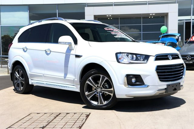 Used Holden Captiva CG MY18 LTZ AWD Liverpool, 2017 Holden Captiva CG MY18 LTZ AWD Summit White 6 Speed Sports Automatic Wagon