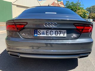 2016 Audi A7 4G MY16 Bi-Turbo Sportback Tiptronic Quattro S Line Grey 8 Speed Sports Automatic