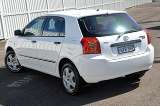 2006 Toyota Corolla ZZE122R 5Y Ascent White 4 Speed Automatic Hatchback.
