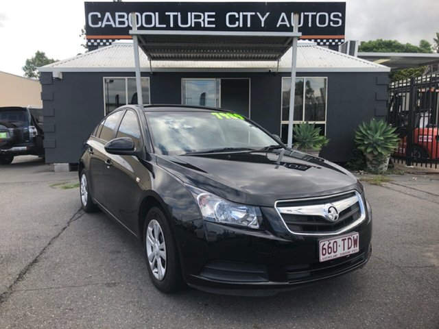 Used Holden Cruze JG CD Morayfield, 2009 Holden Cruze JG CD Black 5 Speed Manual Sedan