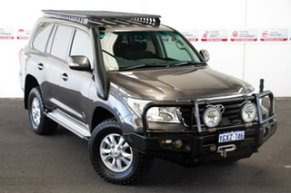 2013 Toyota Landcruiser VDJ200R MY13 GXL (4x4) Graphite 6 Speed Automatic Wagon.