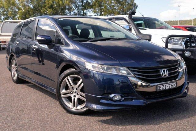 Used Honda Odyssey 4th Gen MY10 Luxury West Gosford, 2010 Honda Odyssey 4th Gen MY10 Luxury Blue 5 Speed Sports Automatic Wagon