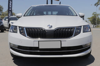 2019 Skoda Octavia NE MY19 110TSI Sedan DSG Moon White 7 Speed Sports Automatic Dual Clutch Liftback
