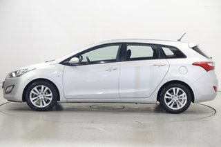 2013 Hyundai i30 GD Active Tourer Silver 6 Speed Manual Wagon.