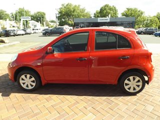2011 Nissan Micra K13 ST Red 5 Speed Manual Hatchback
