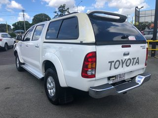 2008 Toyota Hilux KUN26R MY08 SR5 White 5 Speed Manual Utility