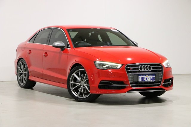Used Audi S3 8V MY14 2.0 TFSI Quattro Bentley, 2014 Audi S3 8V MY14 2.0 TFSI Quattro Red 6 Speed Direct Shift Sedan