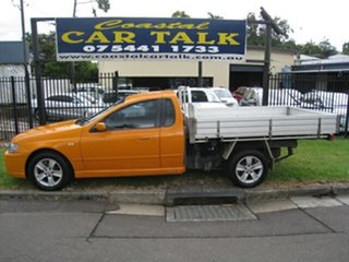 2007 Ford Falcon BF MkII XR6 Orange 5 Speed Manual Utility.