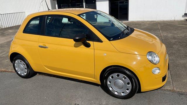 Used Fiat 500 Series 1 POP Moorooka, 2014 Fiat 500 Series 1 POP Zhj 5 Speed Manual Hatchback