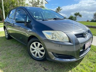 2007 Toyota Corolla ZRE152R Ascent Grey 6 Speed Manual Hatchback.