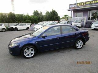 2006 Mazda 6 GG 05 Upgrade Classic Blue 5 Speed Auto Activematic Sedan