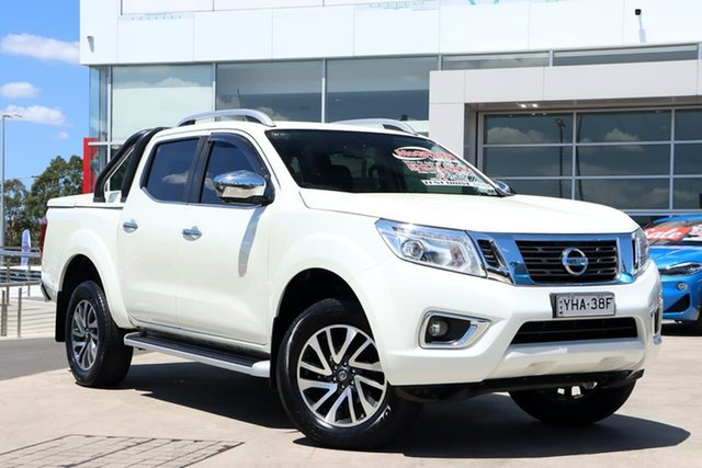 Used Nissan Navara D23 S3 ST-X Liverpool, 2018 Nissan Navara D23 S3 ST-X White Diamond 6 Speed Manual Utility