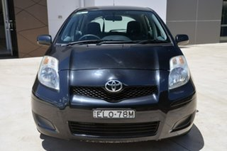 2010 Toyota Yaris NCP90R MY10 YR Black 4 Speed Automatic Hatchback