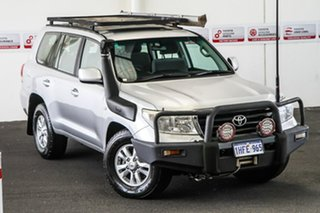 2010 Toyota Landcruiser VDJ200R 09 Upgrade GXL (4x4) Silver Pearl 6 Speed Automatic Wagon.