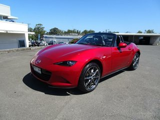 2016 Mazda MX-5 ND GT SKYACTIV-MT Soul Red 6 Speed Manual Roadster.
