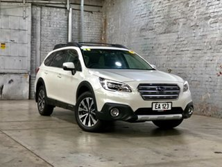2017 Subaru Outback B6A MY18 2.5i CVT AWD Premium White 7 Speed Constant Variable Wagon.