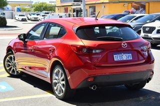 2013 Mazda 3 BM5436 SP25 SKYACTIV-MT Soul Red 6 Speed Manual Hatchback.