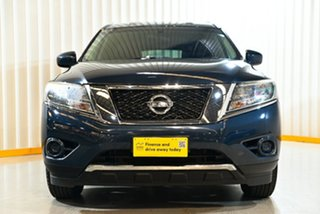 2016 Nissan Pathfinder R52 MY15 ST (4x4) Blue Continuous Variable Wagon