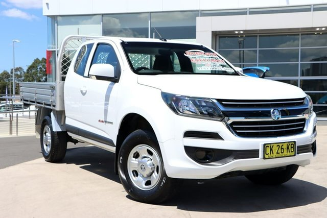 Used Holden Colorado RG MY17 LS Space Cab Liverpool, 2016 Holden Colorado RG MY17 LS Space Cab White 6 Speed Sports Automatic Cab Chassis