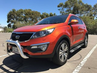 2014 Kia Sportage SL MY14 Platinum AWD Orange 6 Speed Sports Automatic Wagon.