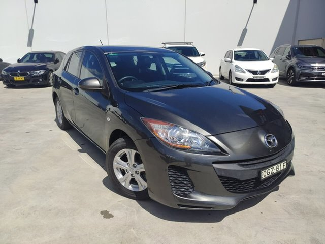 Used Mazda 3 BL10F2 Neo Activematic Liverpool, 2012 Mazda 3 BL10F2 Neo Activematic Grey 5 Speed Sports Automatic Hatchback