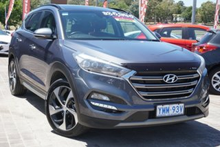 2017 Hyundai Tucson TLe MY17 Highlander AWD Pepper Gray 6 Speed Sports Automatic Wagon.