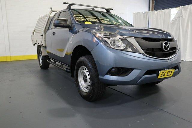Used Mazda BT-50 UR0YG1 XT 4x2 Hi-Rider Castle Hill, 2017 Mazda BT-50 UR0YG1 XT 4x2 Hi-Rider Blue 6 Speed Sports Automatic Utility