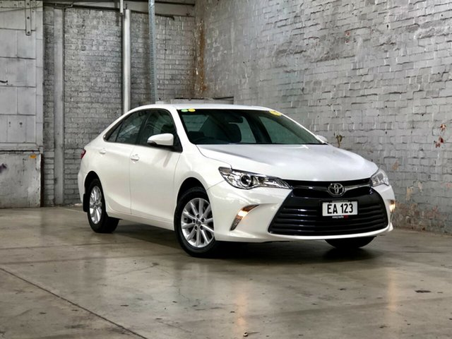 Used Toyota Camry ASV50R Altise Mile End South, 2017 Toyota Camry ASV50R Altise White 6 Speed Sports Automatic Sedan