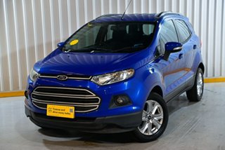 2014 Ford Ecosport BK Trend Blue 5 Speed Manual Wagon.