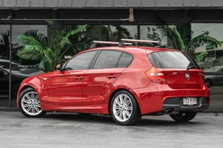2007 BMW 120i E87 MY07 120i Red 6 Speed Automatic Hatchback.