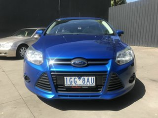 2012 Ford Focus LW MK2 Trend Blue 6 Speed Automatic Hatchback.