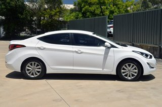 2015 Hyundai Elantra MD3 SE White 6 Speed Manual Sedan.