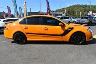 2014 Ford Falcon FG MkII XR6 EcoLPi Yellow 6 Speed Sports Automatic Sedan.